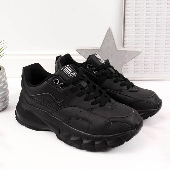 Buty sportowe damskie czarne Big Star II274287