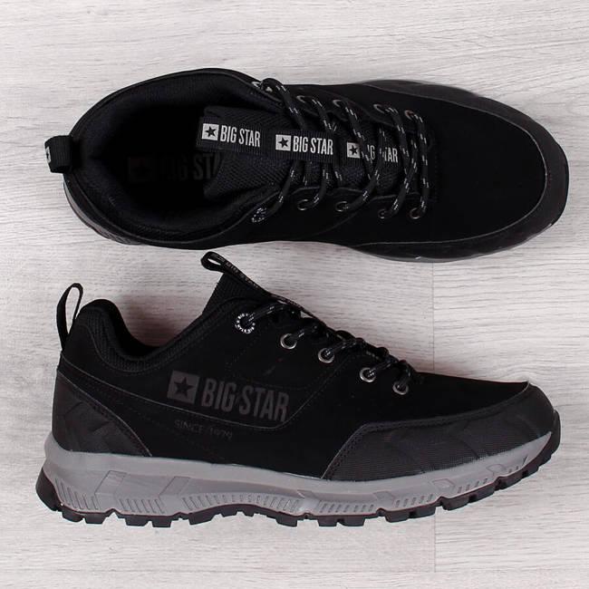 Buty sportowe męskie casual czarne Big Star II174182