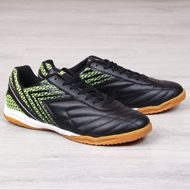 Buty sportowe męskie halówki nadwymiar czarne Atletico