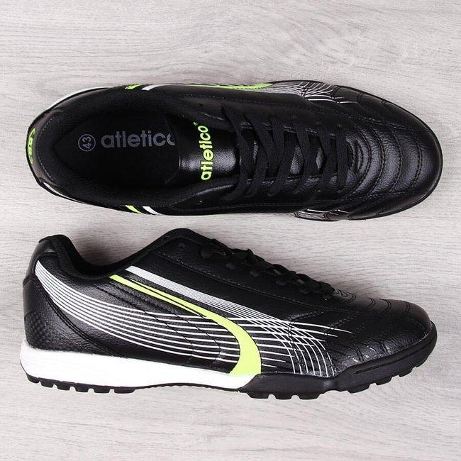 Buty sportowe męskie turfy na orlika czarne Atletico