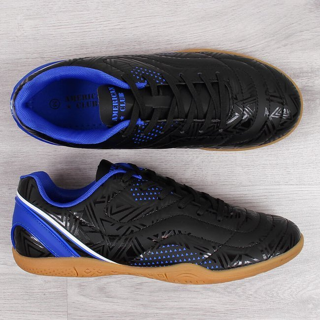 Buty sportowe młodzieżowe halowe czarne American Club