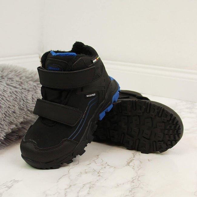 Buty trekkingowe dziecięce wodoodporne ocieplane American Club