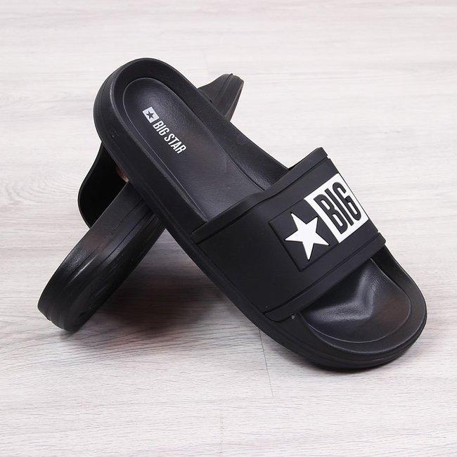 Klapki dziecięce basenowe czarne Big Star DD374150