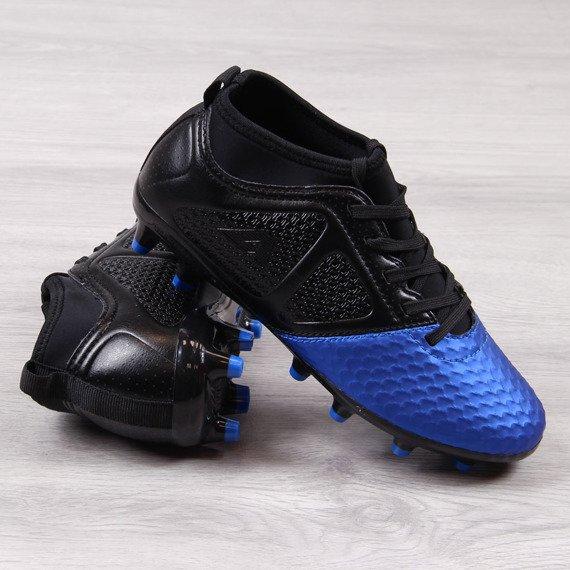 Korki piłkarskie chłopięce niebieskie American Club