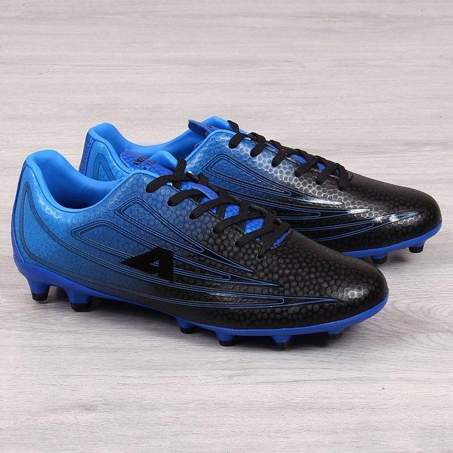 Korki piłkarskie męskie czarno niebieskie American Club