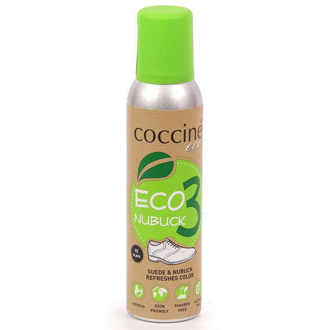 Odświeżacz do zamszu i nubucku Coccine ECO czarny 200 ml