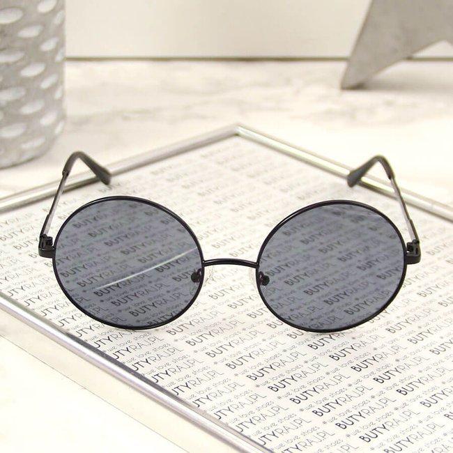 Okulary przeciwsłoneczne lenonki z etui Big Star Z74082