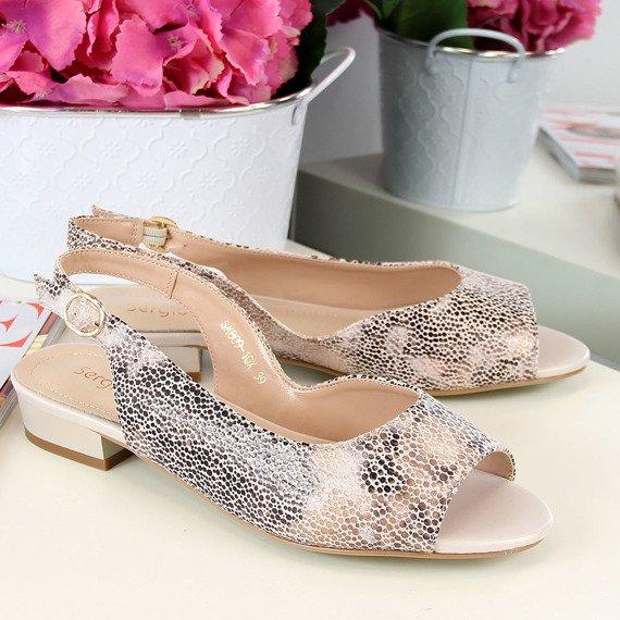 Sandały damskie multikolor Sergio Leone