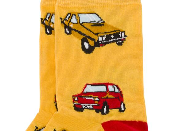 Skarpety żółte Retrofury Bobby Sox