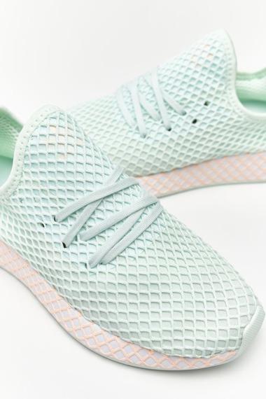 Sneakersy zielone Adidas Deerupt Runner W CG6841
