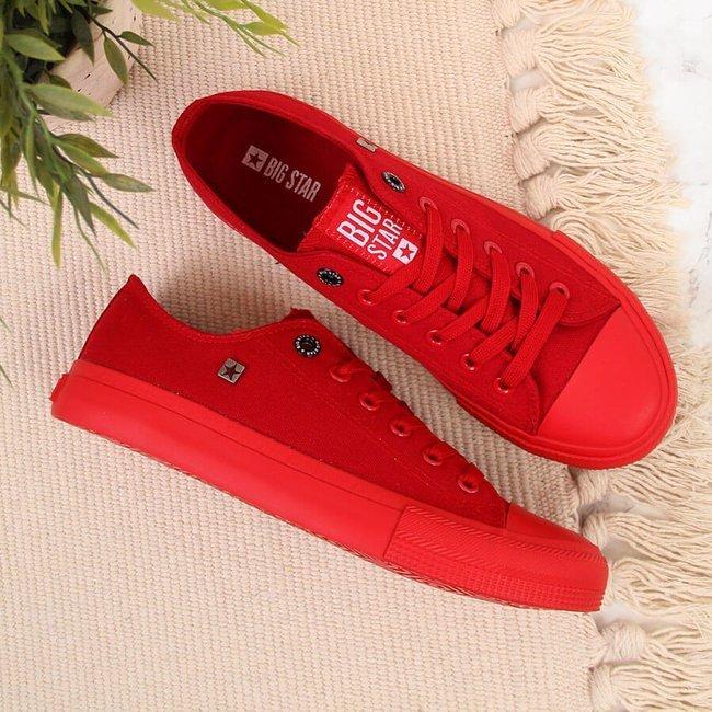 Trampki niskie czerwone Big Star AA274007