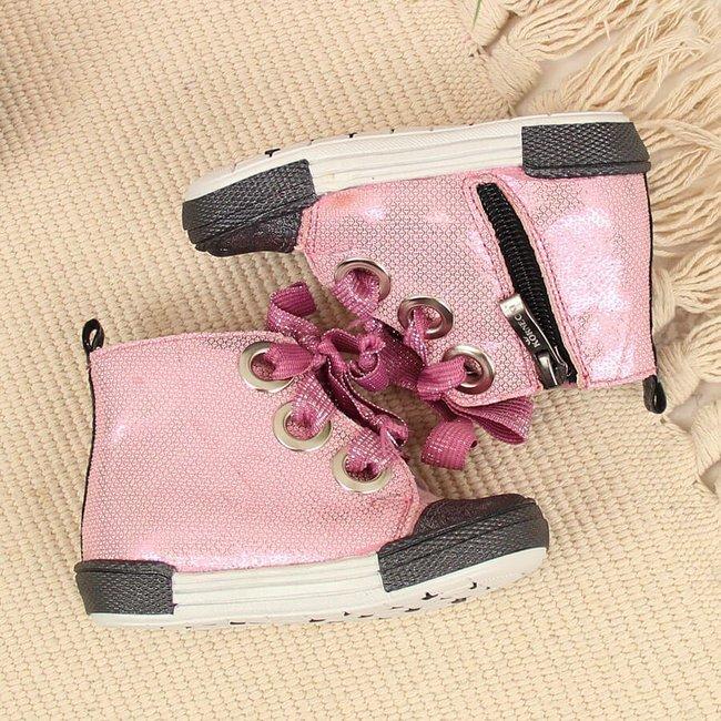 Trzewiki dziewczęce różowe Kornecki 6463