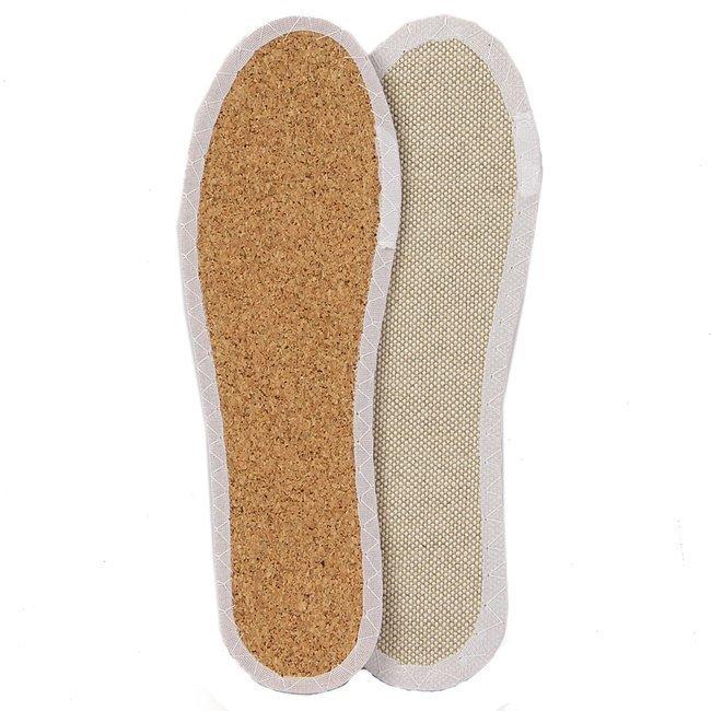 Wkładki do butów len na korku Coccine Eco